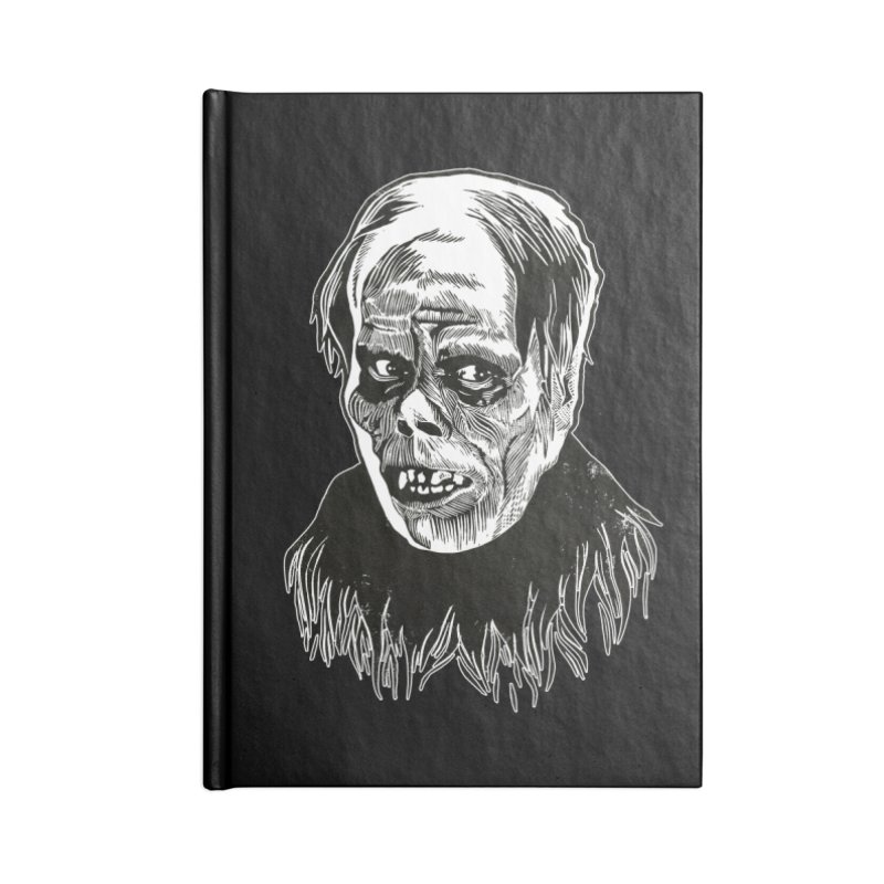 Erik Accessories Blank Journal Notebook by HumAlong Productions