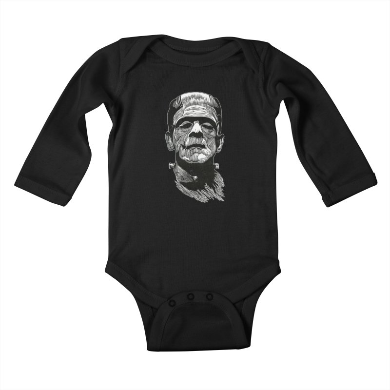 Frank Kids Baby Longsleeve Bodysuit by HumAlong Productions