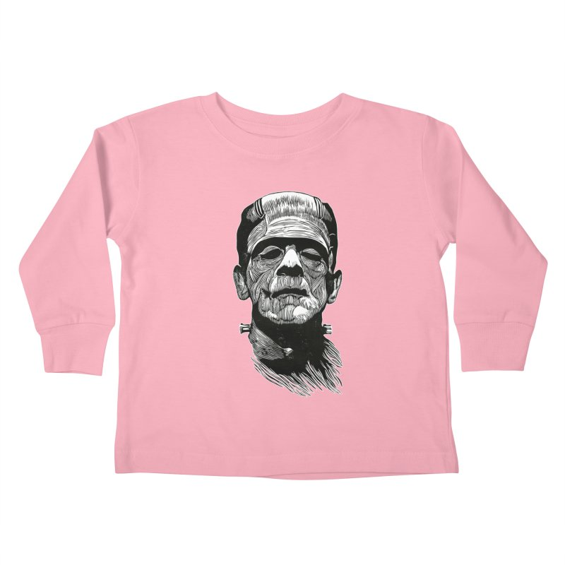 Frank Kids Toddler Longsleeve T-Shirt by HumAlong Productions