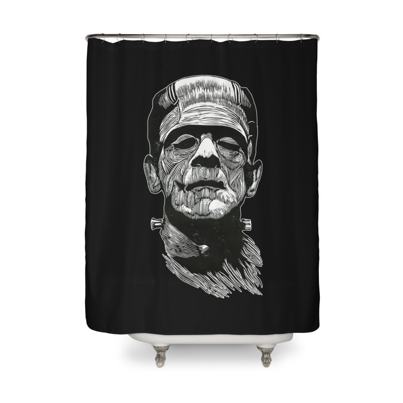 Frank Home Shower Curtain by HumAlong Productions