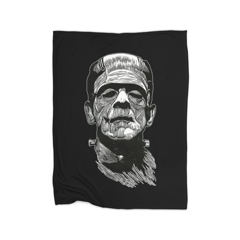 Frank Home Fleece Blanket Blanket by HumAlong Productions