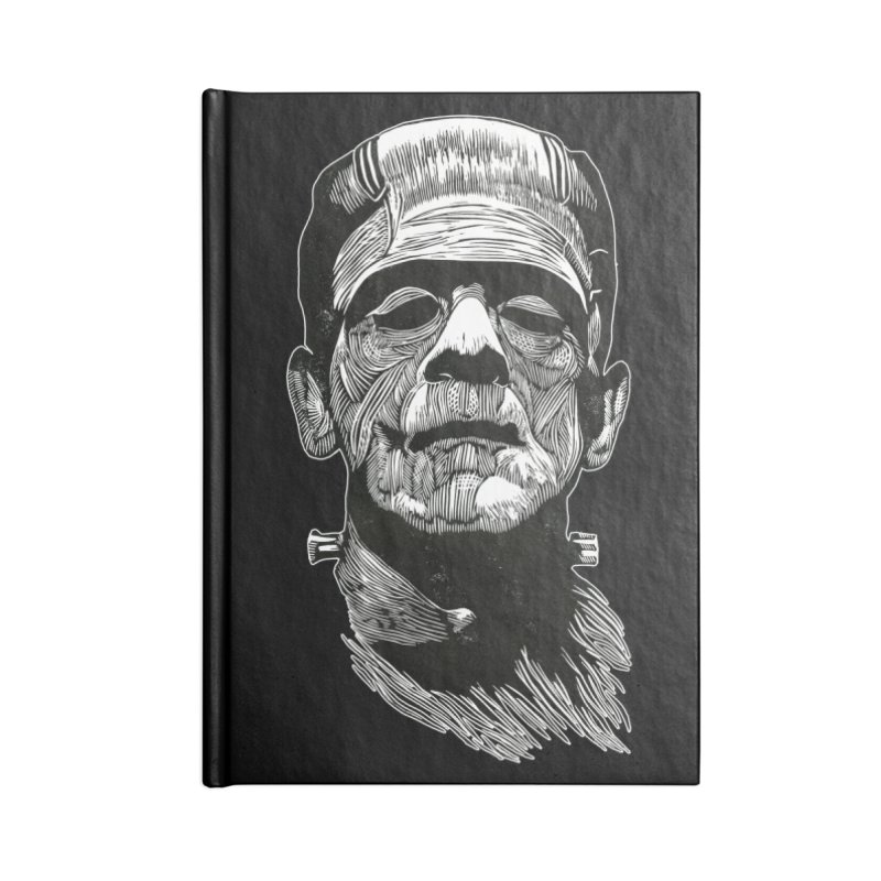 Frank Accessories Blank Journal Notebook by HumAlong Productions