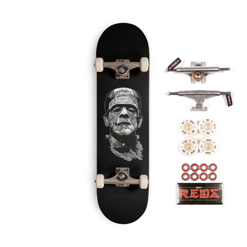Frank Accessories Complete - Pro Skateboard by HumAlong Productions