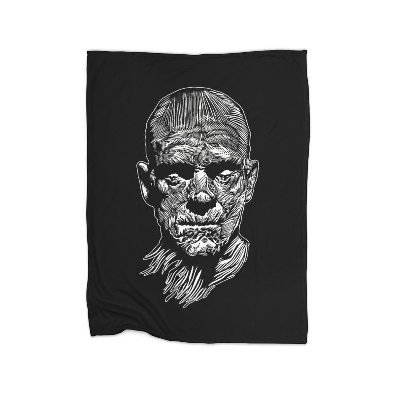 Mummy Home Fleece Blanket Blanket by HumAlong Productions