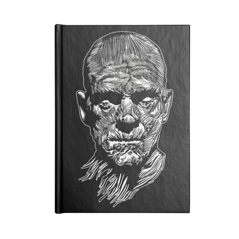 Mummy Accessories Blank Journal Notebook by HumAlong Productions