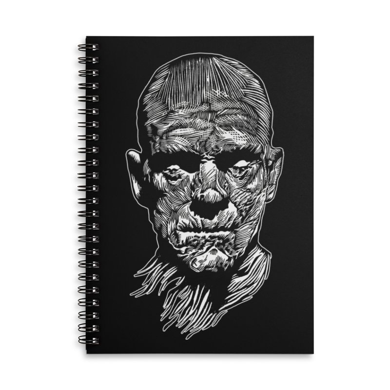 Mummy Accessories Lined Spiral Notebook by HumAlong Productions