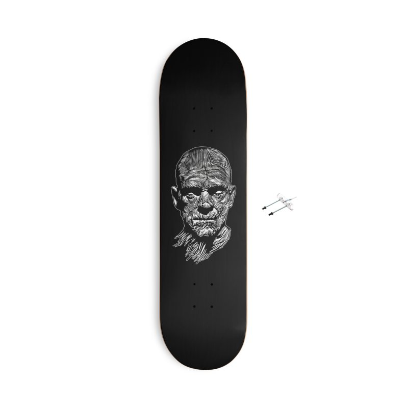 Mummy Accessories With Hanging Hardware Skateboard by HumAlong Productions