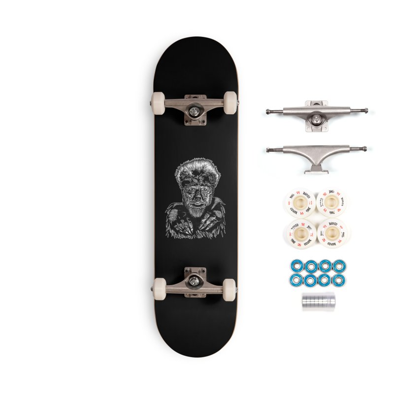 Wolfman Accessories Complete - Premium Skateboard by HumAlong Productions