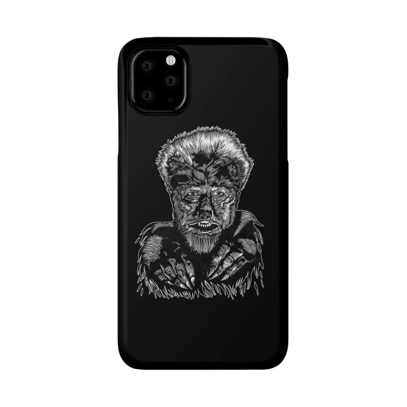 Wolfman Accessories Phone Case by HumAlong Productions