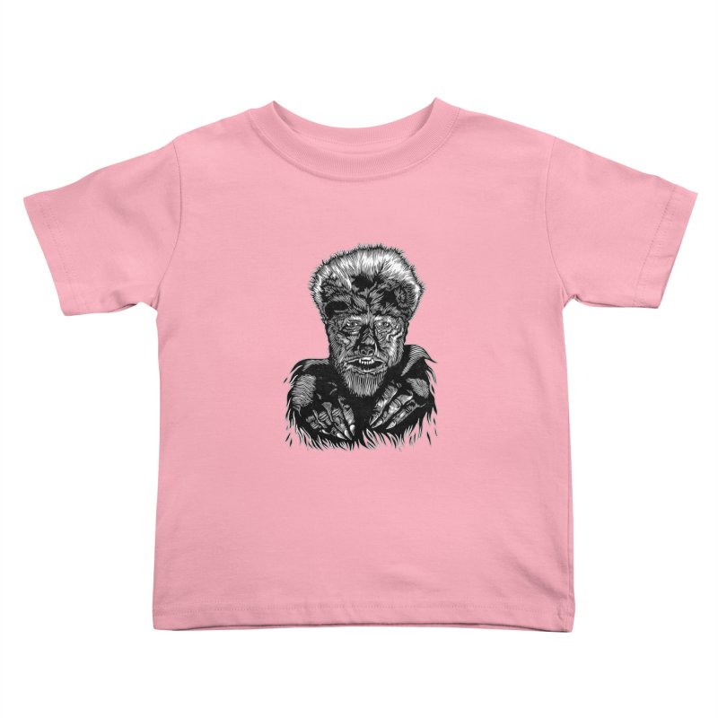 Wolfman Kids Toddler T-Shirt by HumAlong Productions