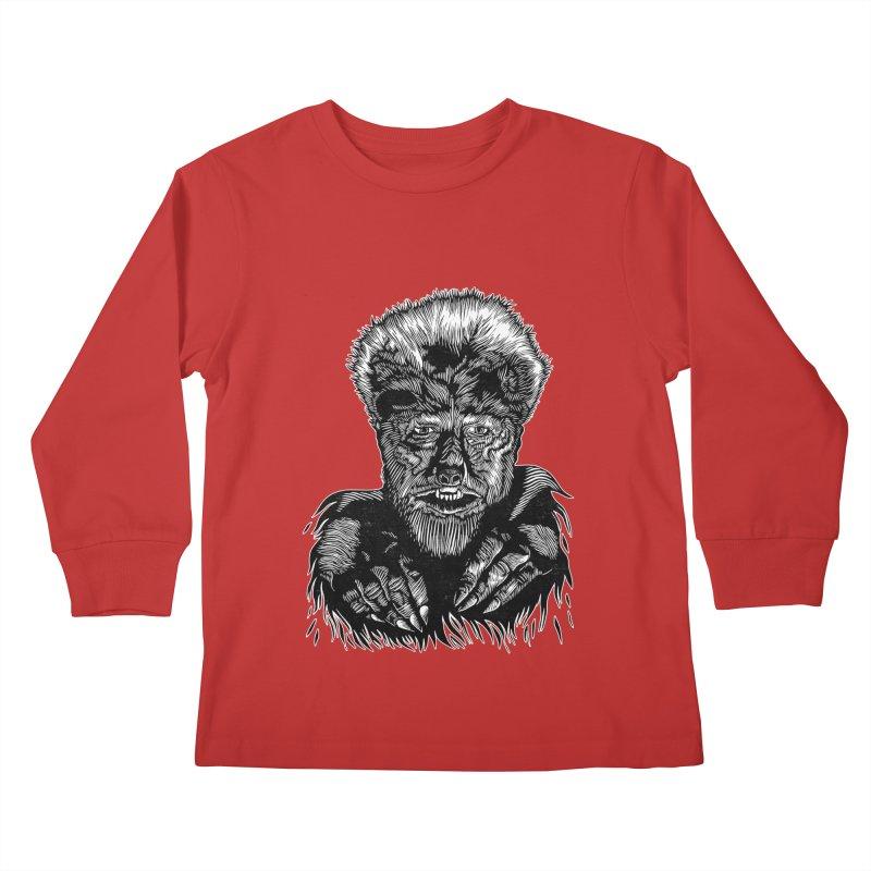 Wolfman Kids Longsleeve T-Shirt by HumAlong Productions