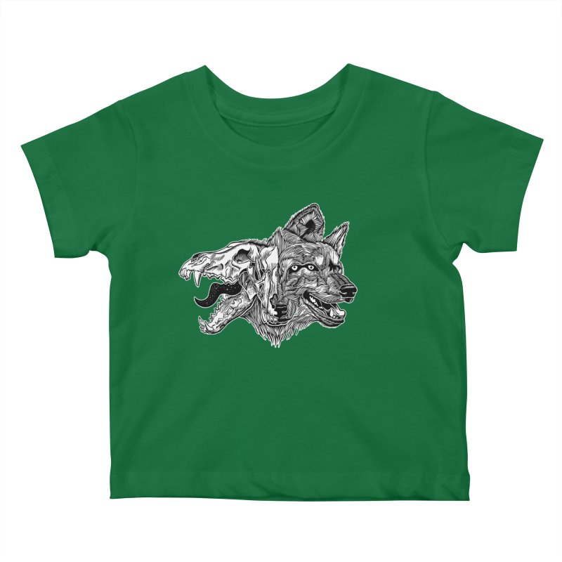 Tearing Free Kids Baby T-Shirt by HumAlong Productions