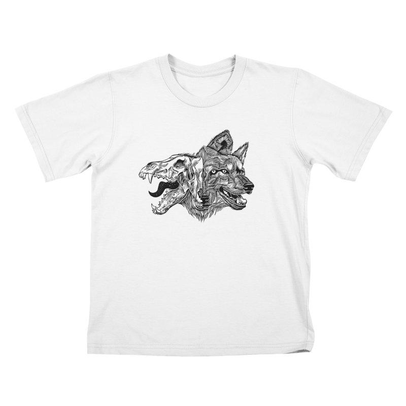 Tearing Free Kids T-Shirt by HumAlong Productions