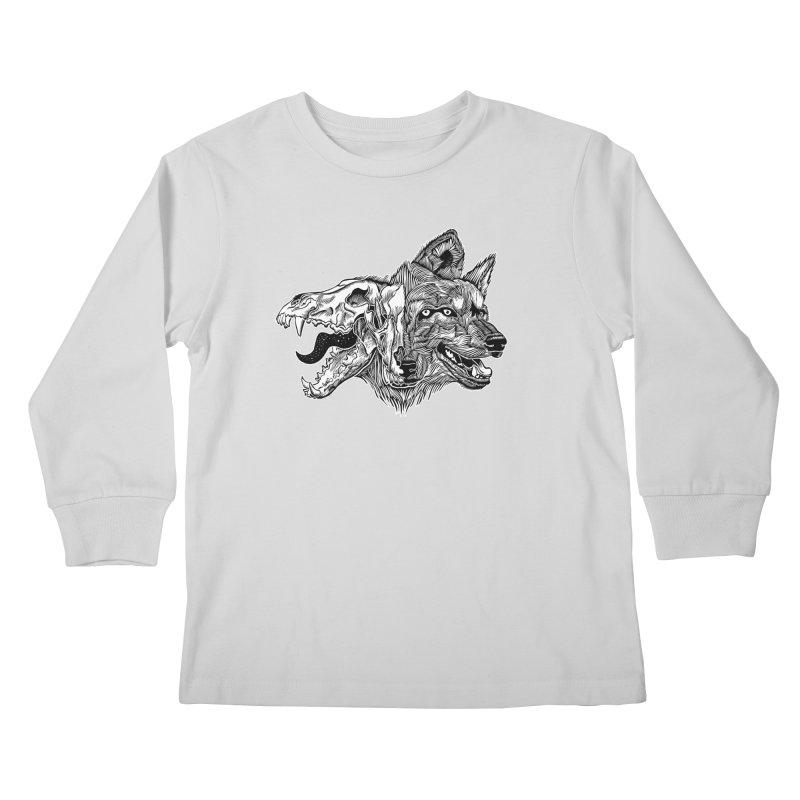 Tearing Free Kids Longsleeve T-Shirt by HumAlong Productions