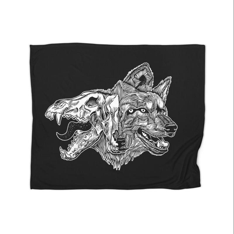 Tearing Free Home Fleece Blanket Blanket by HumAlong Productions