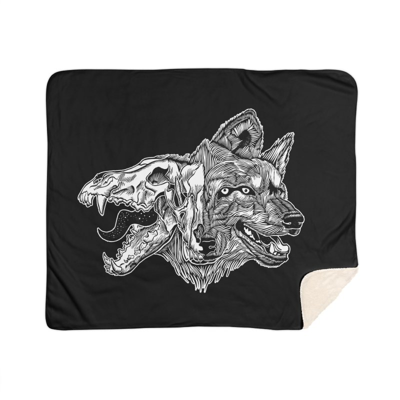 Tearing Free Home Sherpa Blanket Blanket by HumAlong Productions