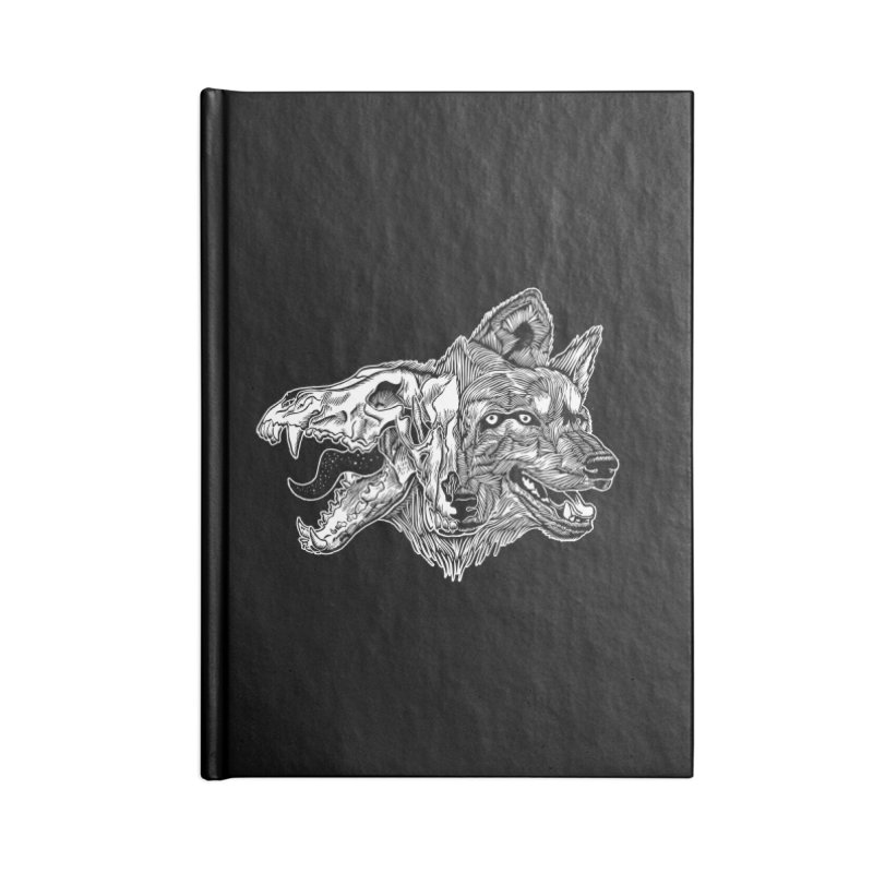Tearing Free Accessories Blank Journal Notebook by HumAlong Productions