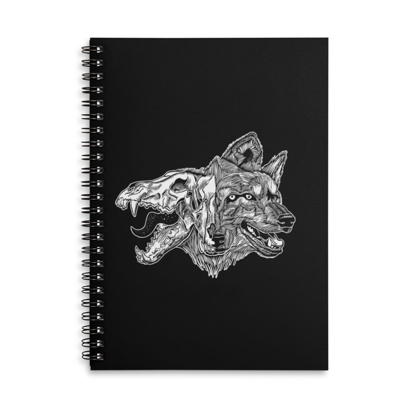 Tearing Free Accessories Lined Spiral Notebook by HumAlong Productions
