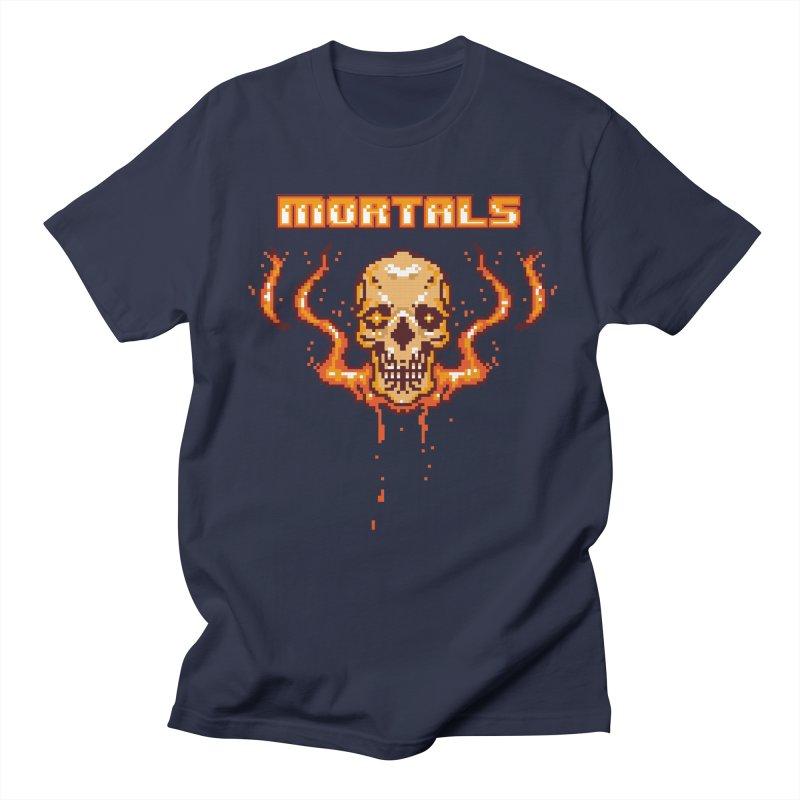 M O R T A L S Men's T-shirt by humandefect1989's Artist Shop