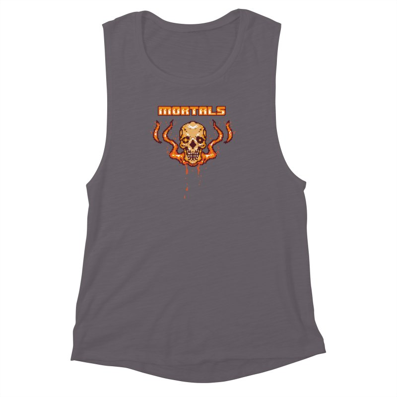 M O R T A L S Women's Muscle Tank by humandefect1989's Artist Shop