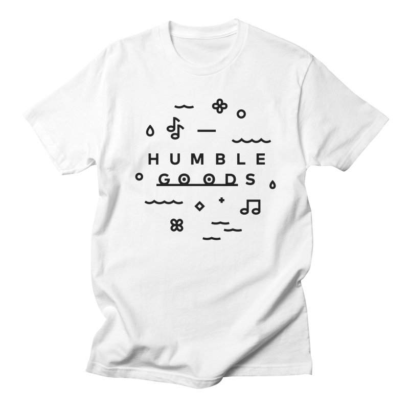 Humble Goods Minimal in Men's T-shirt White by Humble Goods