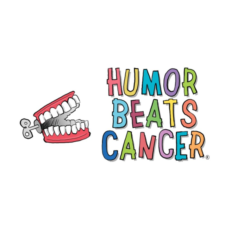 Humor Beats Cancer Accessories Water Bottle by Humor Beats Cancer's Artist Shop