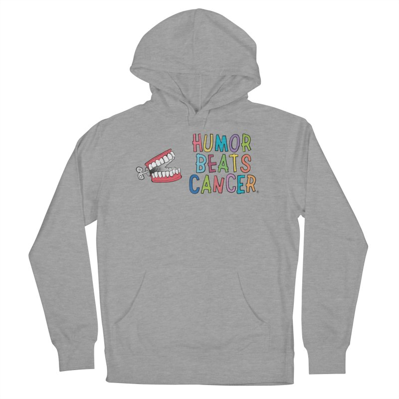 Humor Beats Cancer Women's French Terry Pullover Hoody by Humor Beats Cancer's Artist Shop
