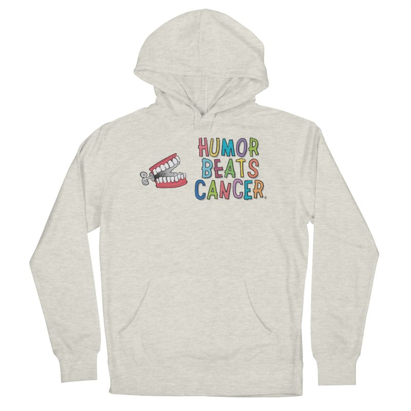 Humor Beats Cancer Men's French Terry Pullover Hoody by Humor Beats Cancer's Artist Shop
