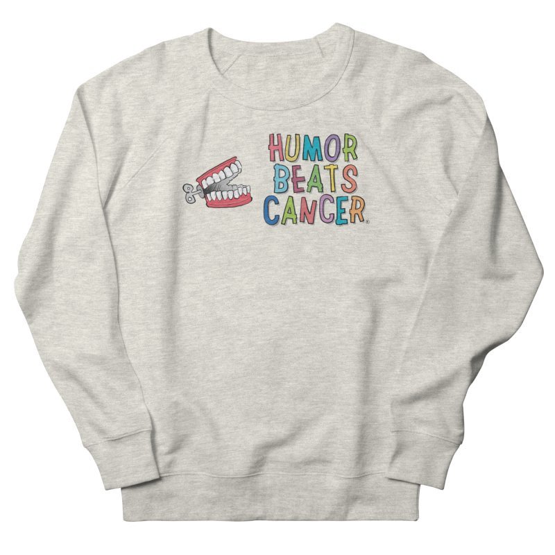 Humor Beats Cancer Men's French Terry Sweatshirt by Humor Beats Cancer's Artist Shop