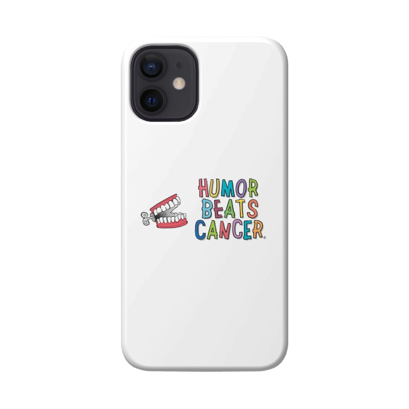 Humor Beats Cancer Accessories Phone Case by Humor Beats Cancer's Artist Shop