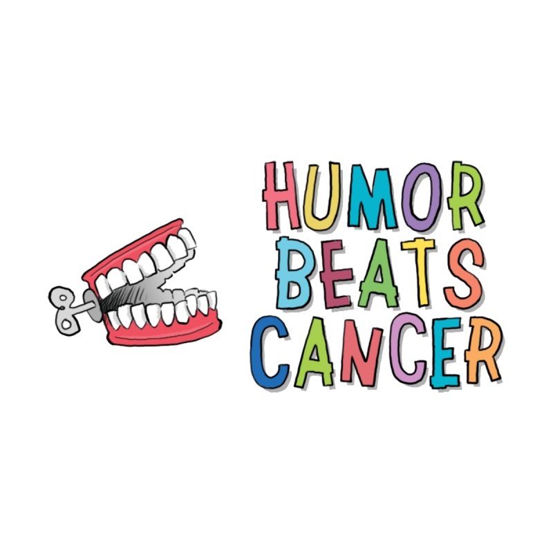 Humor Beats Cancer Men's T-Shirt by Humor Beats Cancer's Artist Shop
