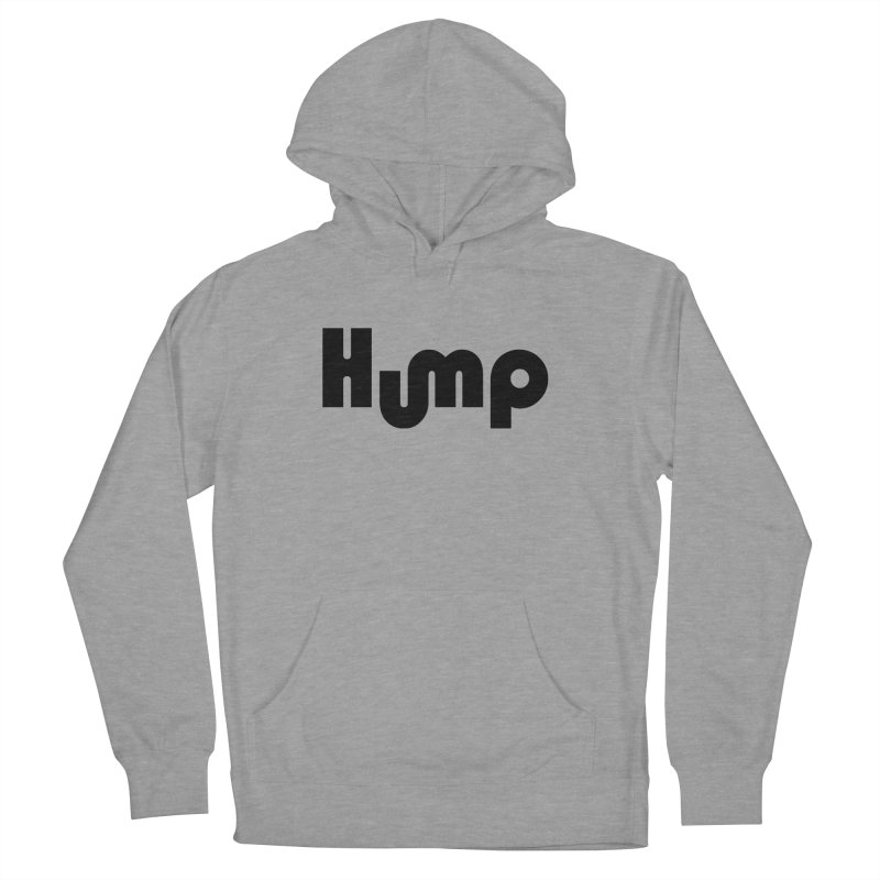 Hump Logo Men's Pullover Hoody by Hump
