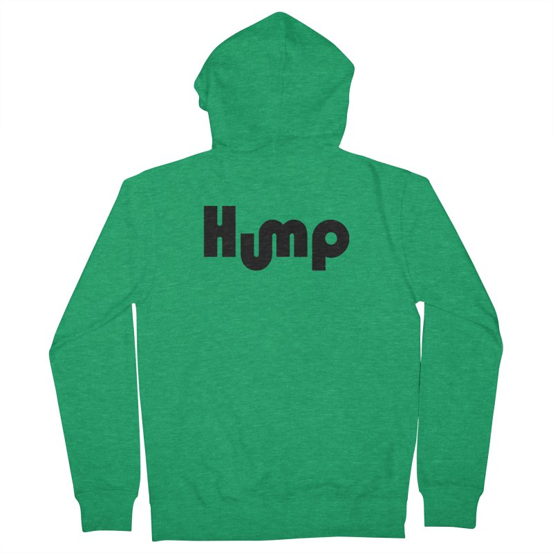 Hump Logo Women's Zip-Up Hoody by Hump
