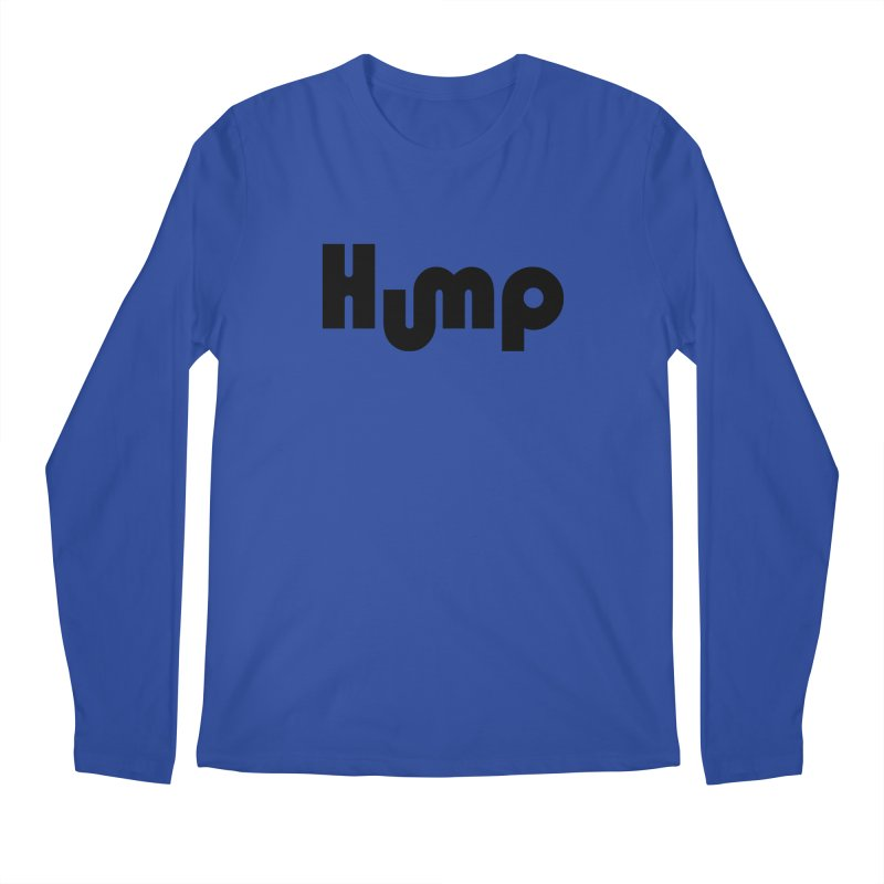 Hump Logo Men's Longsleeve T-Shirt by Hump