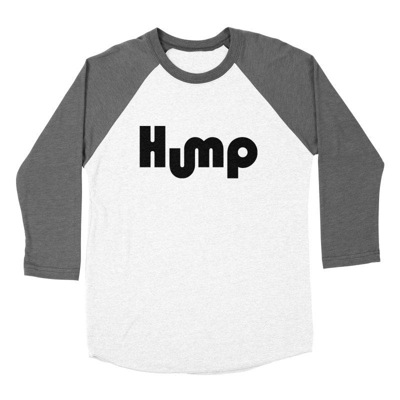 Hump Logo Women's Baseball Triblend T-Shirt by Hump