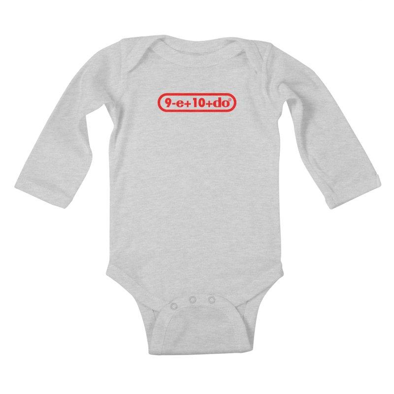 Gamer Math Kids Baby Longsleeve Bodysuit by Hump