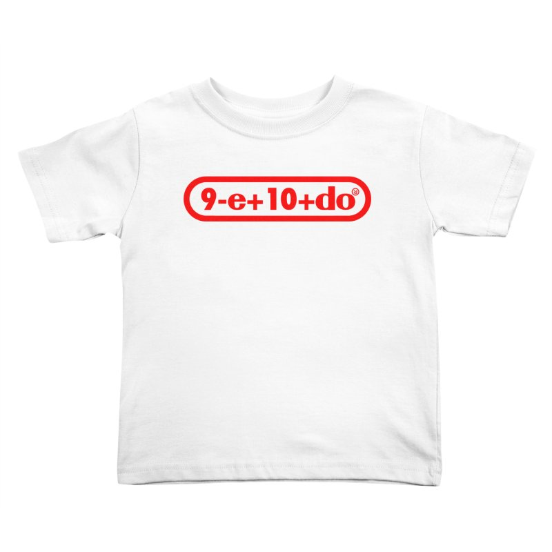 Gamer Math Kids Toddler T-Shirt by Hump