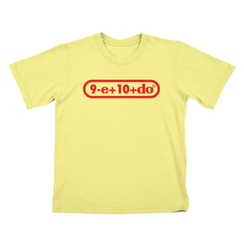 Gamer Math Kids T-shirt by Hump