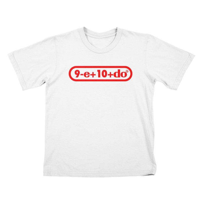 Gamer Math Kids T-Shirt by Hump