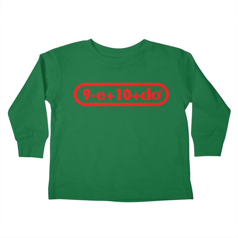 Gamer Math Kids Toddler Longsleeve T-Shirt by Hump