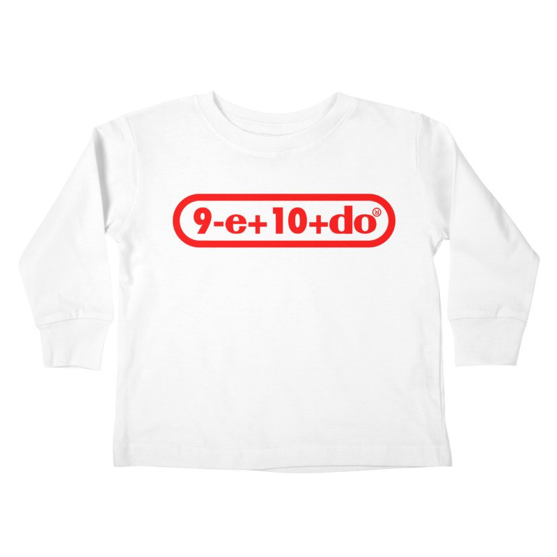 Gamer Math Kids Toddler Longsleeve T-Shirt by Hump