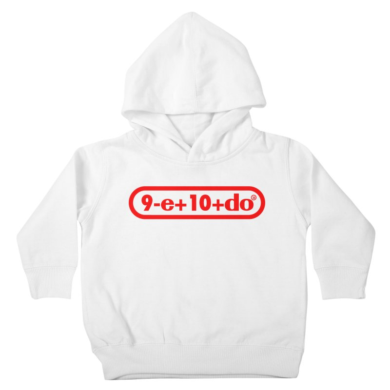 Gamer Math Kids Toddler Pullover Hoody by Hump