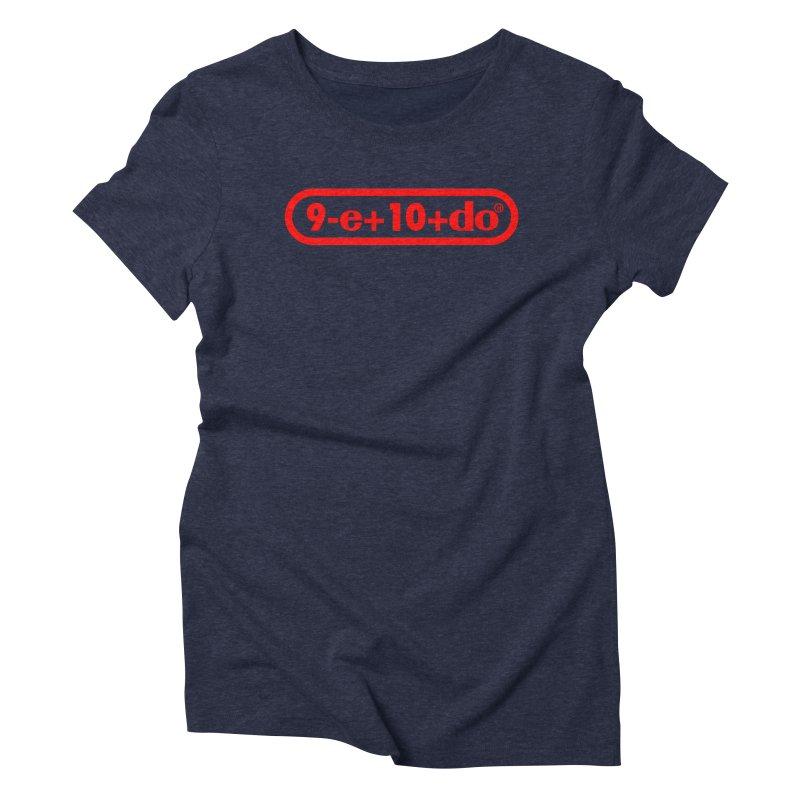 Gamer Math Women's Triblend T-shirt by Hump