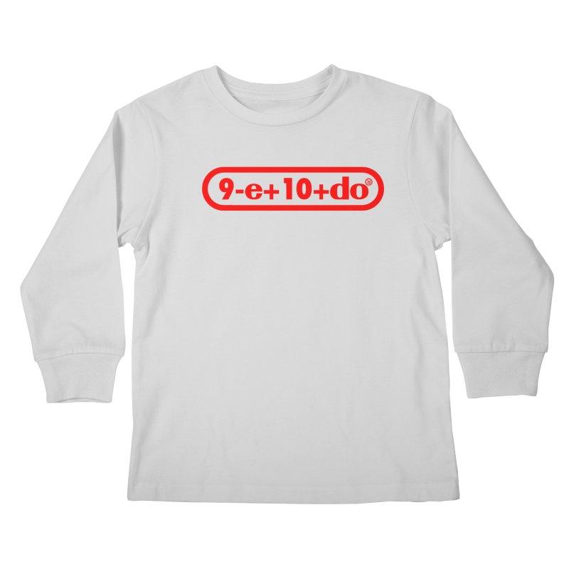Gamer Math Kids Longsleeve T-Shirt by Hump