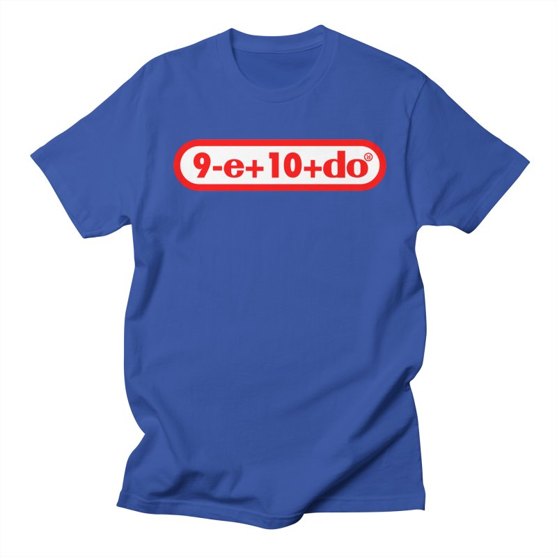 Gamer Math 2 in Men's T-shirt Royal Blue by Hump