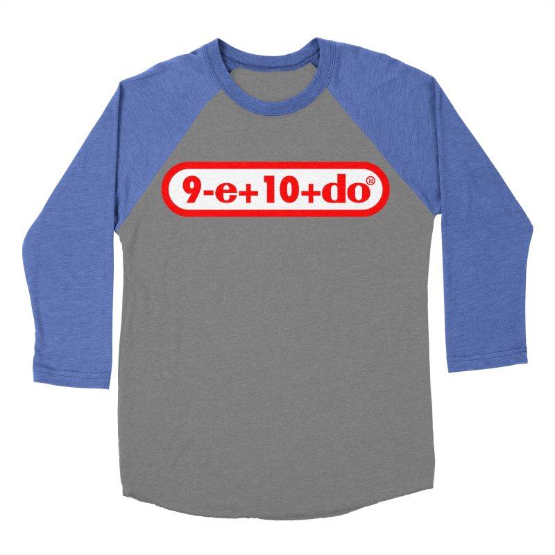 Gamer Math 2 Men's Baseball Triblend T-Shirt by Hump