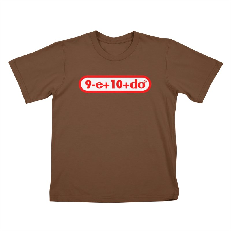 Gamer Math 2 Kids T-Shirt by Hump