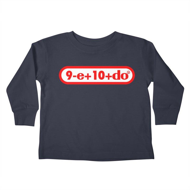 Gamer Math 2 Kids Toddler Longsleeve T-Shirt by Hump