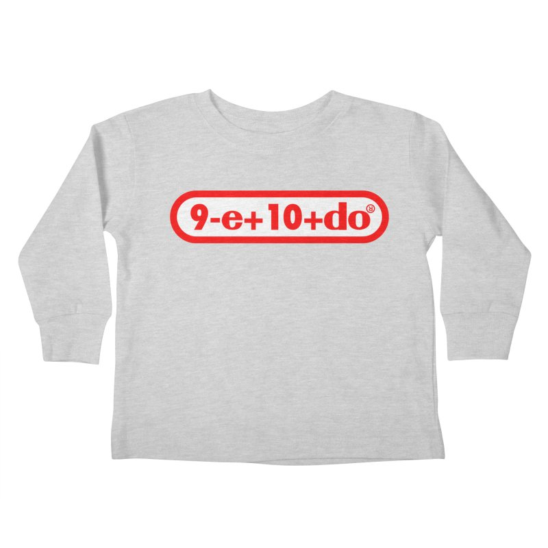 Gamer Math 2 Kids Toddler Longsleeve T-Shirt by Hump