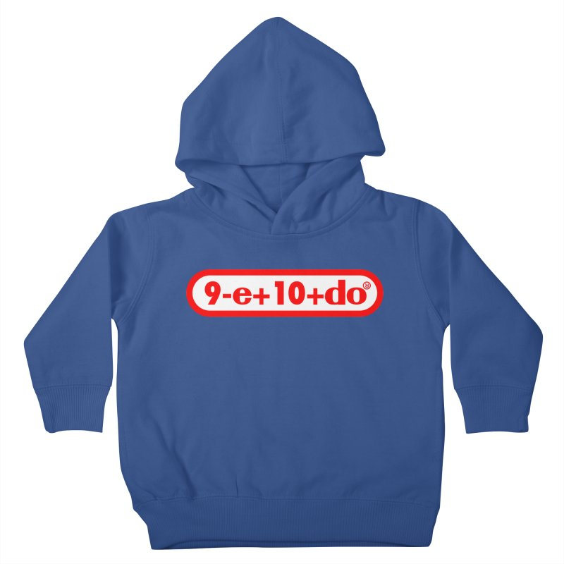 Gamer Math 2 Kids Toddler Pullover Hoody by Hump